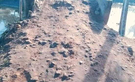 বাহুবলে একটি রাস্তার দুরবস্থা নিয়ে জনমনে অসন্তোষ