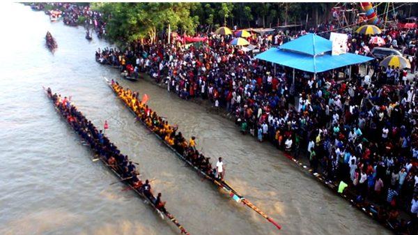 শনিবার সিলেটে চেঙ্গেরখাল নদীতে নৌকা বাইচ প্রতিযোগিতা