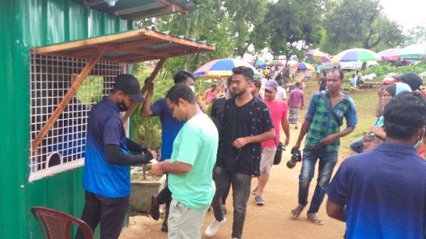 পর্যটকদের কাছ থেকে ফি আদায়ে জাফলংয়ে ৩টি বুথ