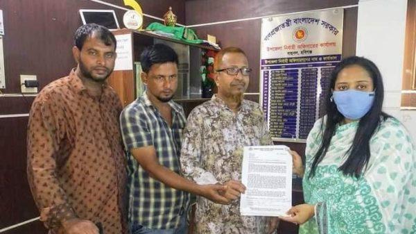 বাহুবলে বাংলাদেশ মফস্বল সাংবাদিক ফোরামের উদ্যোগে স্মারকলিপি প্রদান
